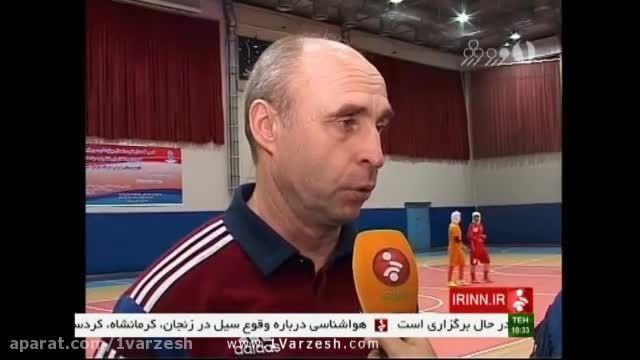 برتری قاطع تیم ملی فوتسال بانوان ایران مقابل روسیه