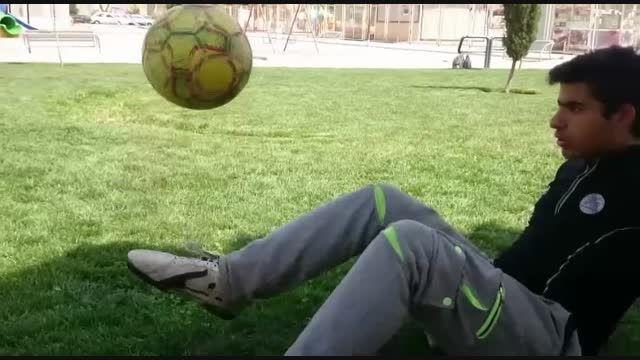 اعجوبه ای در فوتبال با امیرحسین