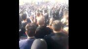 تجمع مردم برای درگذشت مرتضی پاشایی