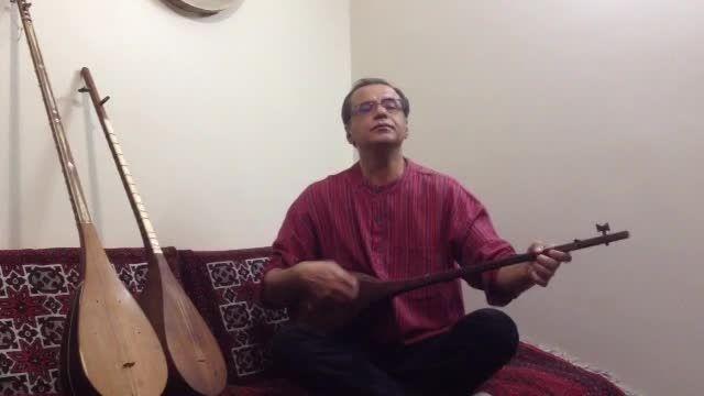 استاد مسعود خضری - شاه خطایی - دوتار