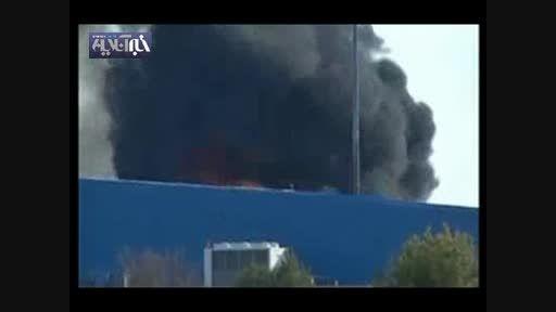 اولین تصاویر ازسقوط جنگنده اف16 یونان با 23 کشته و زخمی