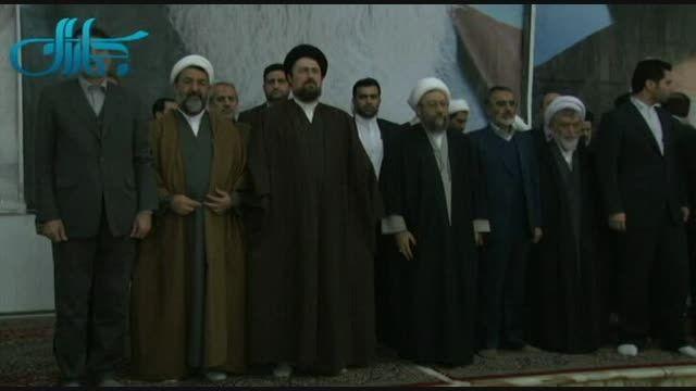 تجدید میثاق رییس قوه قضاییه با آرمان های امام خمینی (س)