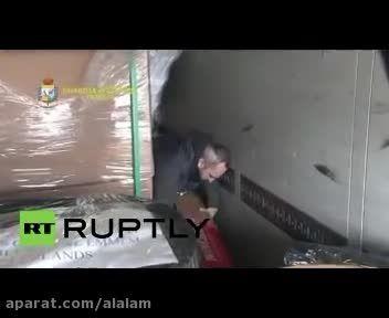 توقیف محموله سلاح ترکیه در ایتالیا