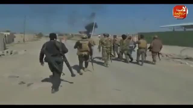 استقبال مردم تکریت از ارتش و نیروهای مردمی عراق 1