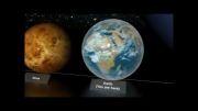 قدرت خدا ( اندازه سیارات در کنار ستاره ها )