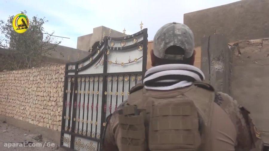 حمله نیروهای امنیتی عراق به منطقه راه آهن در رمادی