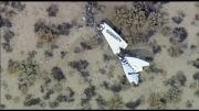 سقوط اسپیس شیپ 2، و کشته و زخمی شدن خلبان های آن