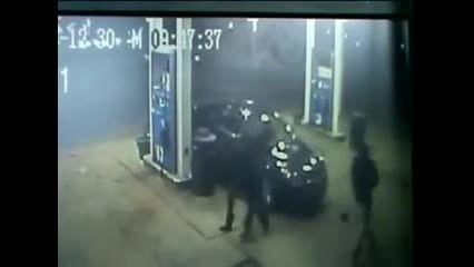 سرقت خودرو در جایگاه سوخت
