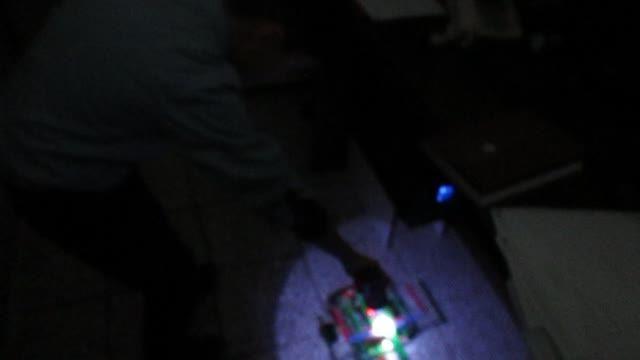 نمونه ربات طراحی شده توسط دانش آموز