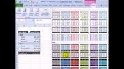کپی محوری فرمت جدول و ارزش ها