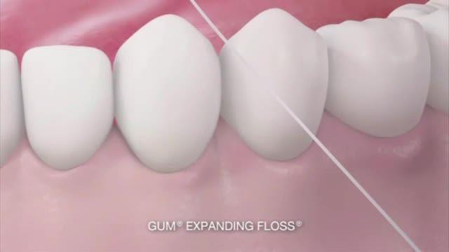 روش صحیح نخ کشیدن دندانها