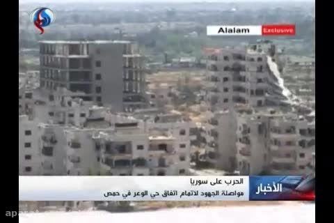 ارسال کمکهای انسانی برای اهالی حمص
