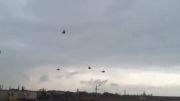 ورود بالگردهای روسی به فضای اوکراین