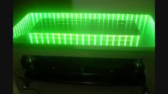طرز ساخت میز های سه بعدی با ال ای دی - بی نظیره