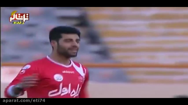 خلاصه بازی پرسپولیس 1 - 0 استقلال اهواز