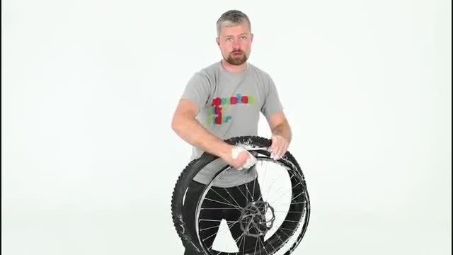 چگونگی تبدیل چرخ دوچرخه تیوب دار به بدون تیوب