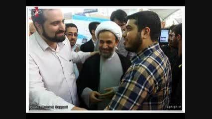 شایستگی امام خامنه ای برای رهبری و تایید امام  خمینی