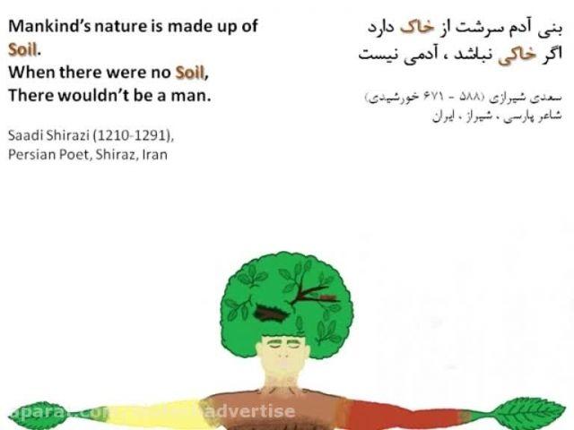 معرفی نقاشی سال جهانی خاک، ارسالی به سازمان FAO