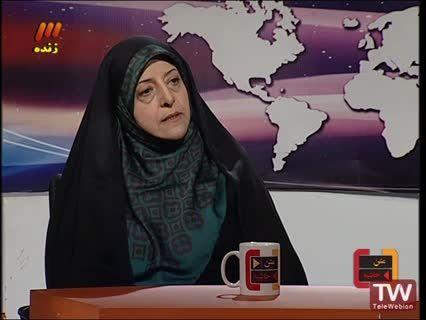 معصومه ابتکار در برنامه زنده تلویزیونی متن، حاشیه