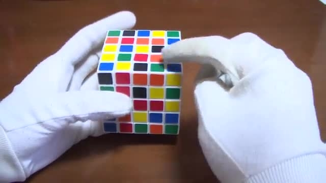 آموزش حل مکعب روبیک 5×5×5 - بخش دوم «حل کامل مکعب»