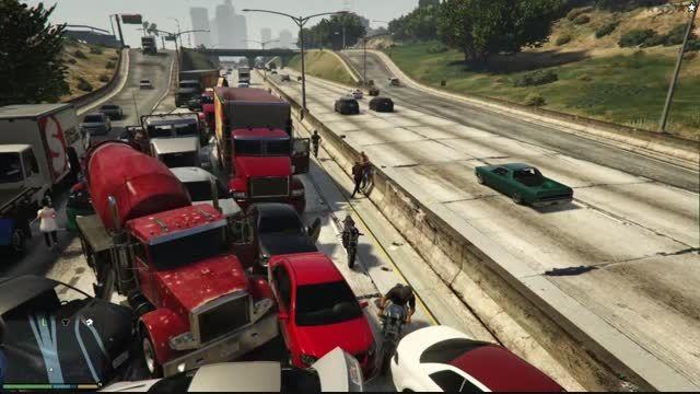 ترافیک سنگین GTA V