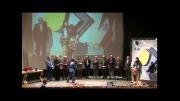 اهدای لوح تقدیر به وزیر راه و شهرسازی اجرای فریبا علومی یزدی