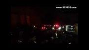 فیلم لحظه برخورد با عوامل جشن حسین کشوون در شهر ری