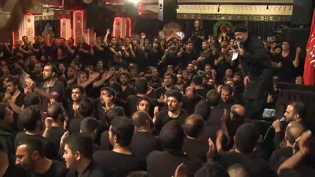 شب هفتم-(همراه بابایی هم قد سقایی)-حاج محمود کریمی