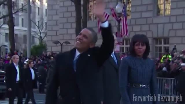 دیدار اوباما و ظریف در خیابان