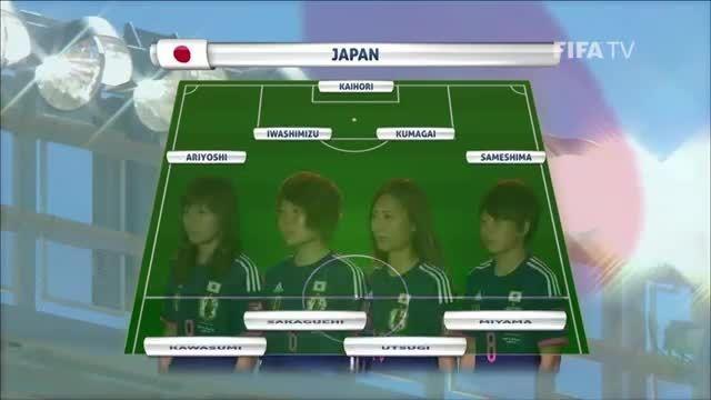 ترکیب : ژاپن VS انگلیس (جام جهانی زنان 2015 کانادا)