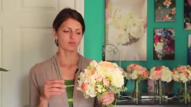 دسته گلی برای عروس