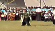 رقص لری همراه با آهنگ خارجی