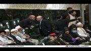 حضور مولوی عبدالحمید در مراسم تحلیف دکتر روحانی