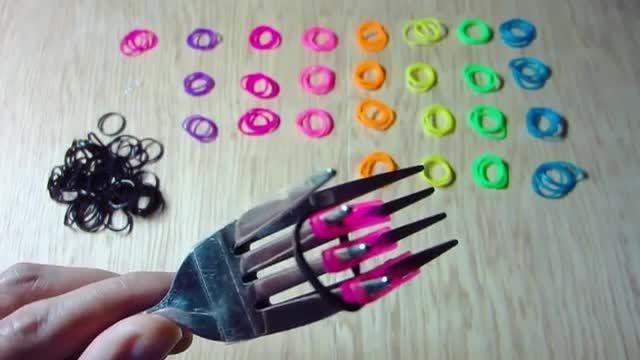 اموزش بافتن دستبند فانی بافت3
