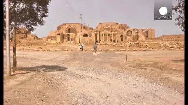 داعش میراث اشکانیان را نابود کرد
