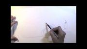 آموزش طراحی BMW با مداد