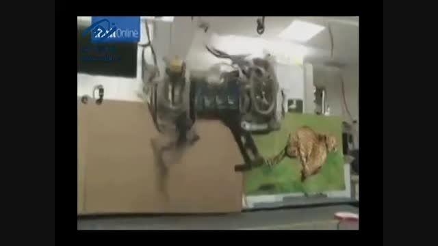 سریع ترین ربات جهان ساخته شد !