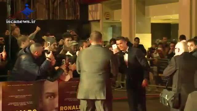 مراسم فرش قرمز فیلم کریس رونالدو