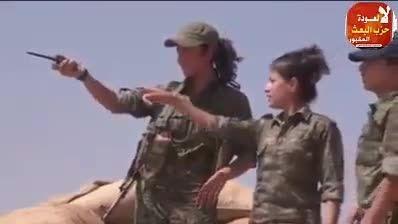 دختر شجاه کرد خودش را کشت اما تسلیم داعش نشد