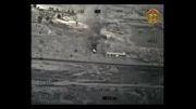 حمله نیروی هوایی عراق به مکان حضور داعشی ها!!!