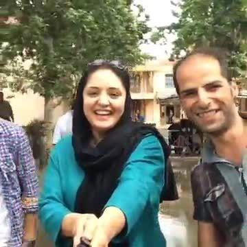 خنده های نرگس محمدی