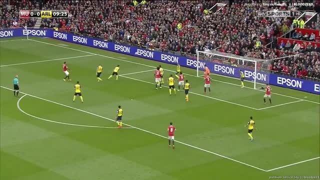 منچستر یونایتد 1-1 آرسنال