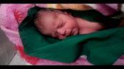 نوزاد دختر تازه متولد شده خیلی زیبا.به نام آیسا از شیراز