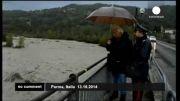 رانش زمین در ایتالیا