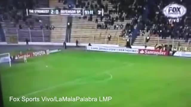 مشاهده روح در میان تماشاگران ورزشگاه بولیوی