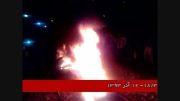 تجمع اعتراض آمیز مردم سپیددشت در راه آهن