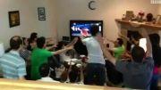 شادی دانشجویان آیووا برای صعود ایران به جام جهانی
