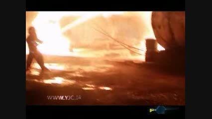 آتش سوزی مهیب در کهریزک