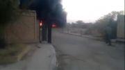 به آتش کشیدن قبر صدام ملعون توسط ایرانیان و عراقی ها