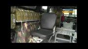 روبات تیرانداز و تست خودرویی در روسیه